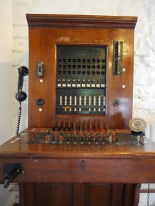 Telephone switchboard from the Creighton Hotel, Clones